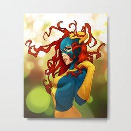 Marvel-ous Girl Metal Print