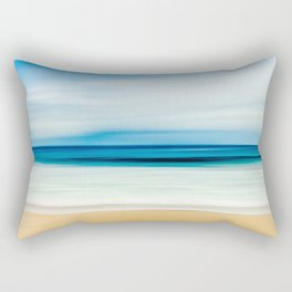 Peaceful ocean waves Rectangular Pillow