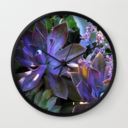 The Secret Life of Plants Wall Clock