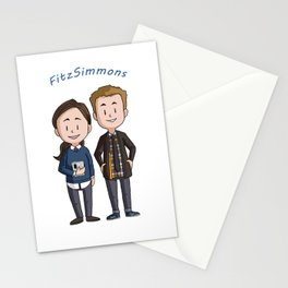Fitzsimmons Chibis Stationery Cards