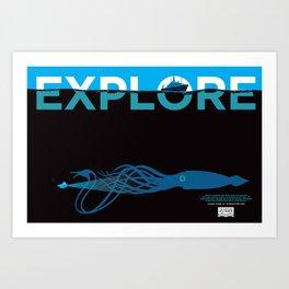 EXPLORE 2 Art Print