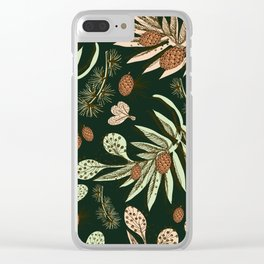 Christmas pattern. Clear iPhone Case