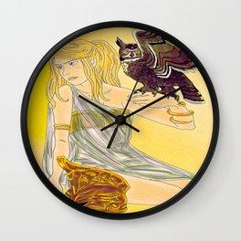 Annabeth as Athena  Wall Clock