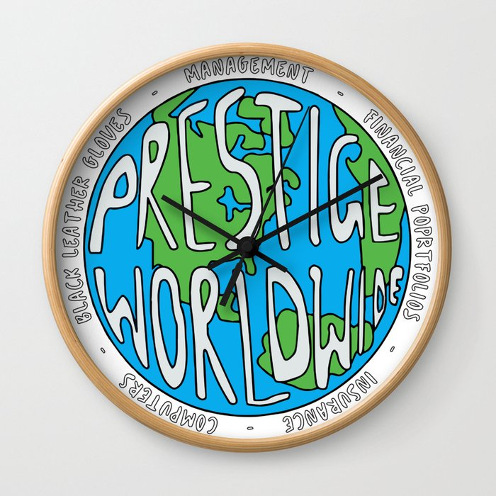 Step Brothers   Prestige Worldwide Enterprise   The First Word In Entertainment   Original Design Wall Clock