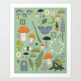 Fairy Garden Kunstdrucke