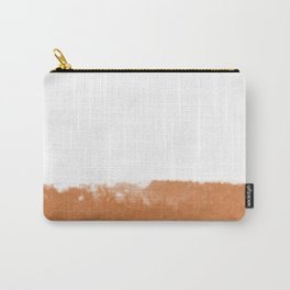 TAN MINIMAL Carry-All Pouch