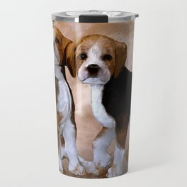 Young Beagle Travel Mug