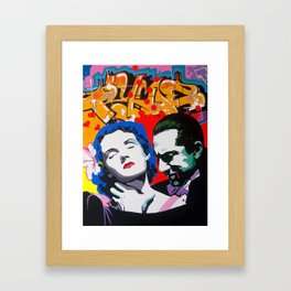 Would you like to...? Framed Art Print