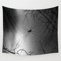 spider Wall Tapestries featuring Spider by Gwlad Sas