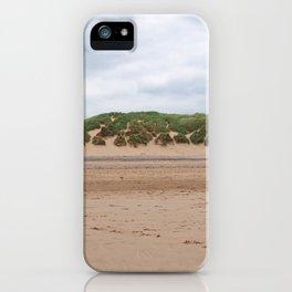 Beach - Dunes - Clouds iPhone Case