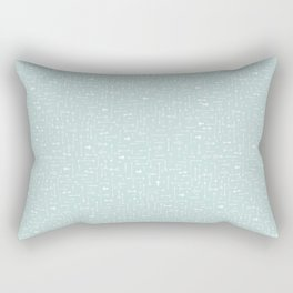 Every Which Way - Pastel Rectangular Pillow