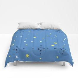 Directional Compass Comforters