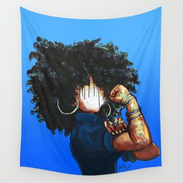Naturally the Riveter  Wall Tapestry