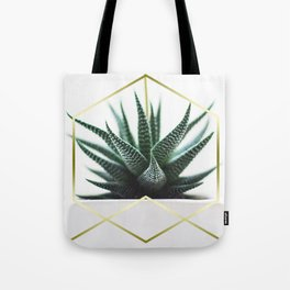 LUXE x SHEA - Gold plant life minimal Tote Bag