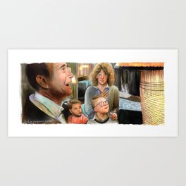 A Christmas Story - Indescribably Beautiful Art Print