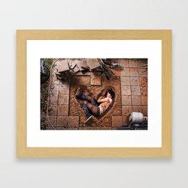 The Wrong Kind of Love Framed Art Print