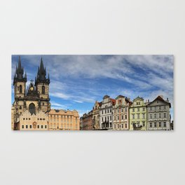 Twinkling Tower. Canvas Print