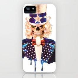 Zombie Sam iPhone Case