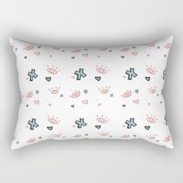Tuesday Scribbles Rectangular Pillow