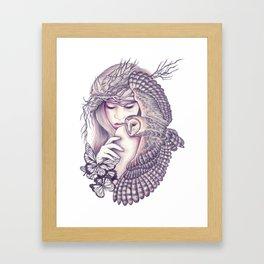 Owl Spirit Framed Art Print