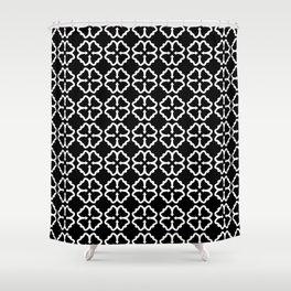 Black Clover Shower Curtain