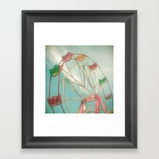 Big Wheel II Framed Art Print