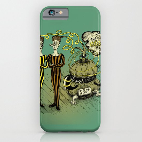 The Electro Bros and The Laugh Machine iPhone & iPod Case