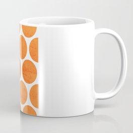 orange polka dots Coffee Mug