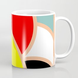 Abstract Color Menagerie Coffee Mug