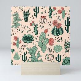 Succulent Desert Mini Art Print