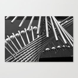 Iron Confusing Canvas Print