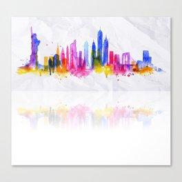 Color New York Skyline 05 Canvas Print