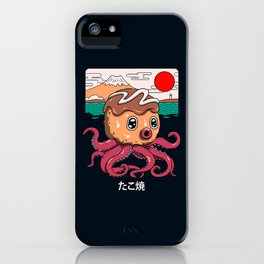 Octakoyaki iPhone Case
