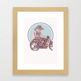 Menagerie Sheep & Ram Framed Art Print