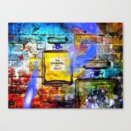 No 5 Wall Canvas Print