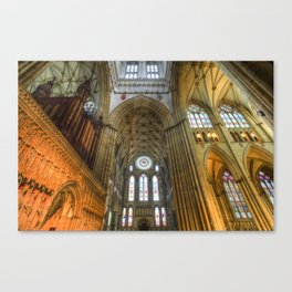 York Minster Canvas Print