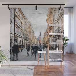 Krakow Florianska street #cracow #krakow Wall Mural