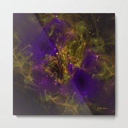 Nebula System Metal Print