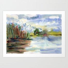 Tranquility2 Art Print