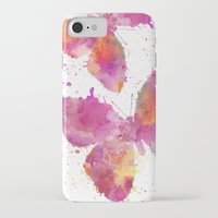 artsy iPhone & iPod Cases featuring Artsy Butterfly by LebensART