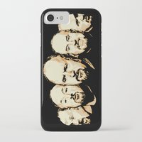 louis ck iPhone & iPod Cases featuring The Faces of Louis CK by LVP _