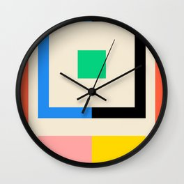 HALVES Wall Clock