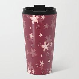 Spring Floral Pattern IV Travel Mug