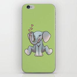 Baby Elephant iPhone Skin