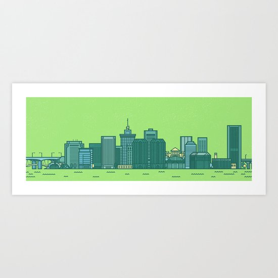 Richmond Panoramic Art Print