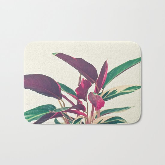 Prayer Plant Bath Mat