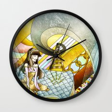 The Princess and the Pea Wall Clock