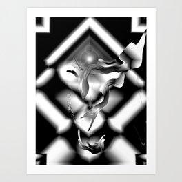 Diamond Dreams Art Print