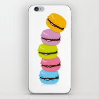 macaron iPhone & iPod Skins featuring macaron by taichi_k