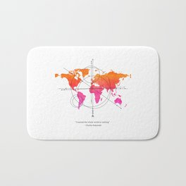 I WANTED THE WHOLE WORLD OR NOTHING. Bath Mat